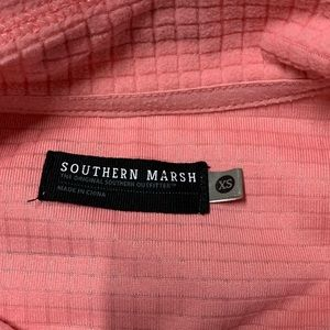 Southern Marsh Tops - Southern Marsh | Pink Fieldtec 1/4 Zip Pullover